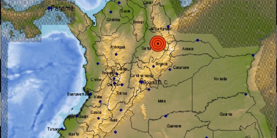 Temblor en Colombia: magnitud y daños causados | Fuera del Fútbol ...