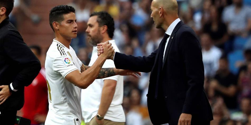 James Rodríguez hoy: tiempo sin ser titular en Real Madrid ...