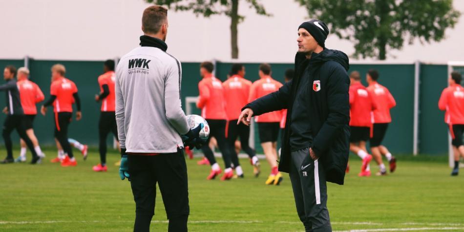 Heiko Herrlich, técnico del Augsburgo no estará al mando de su ...