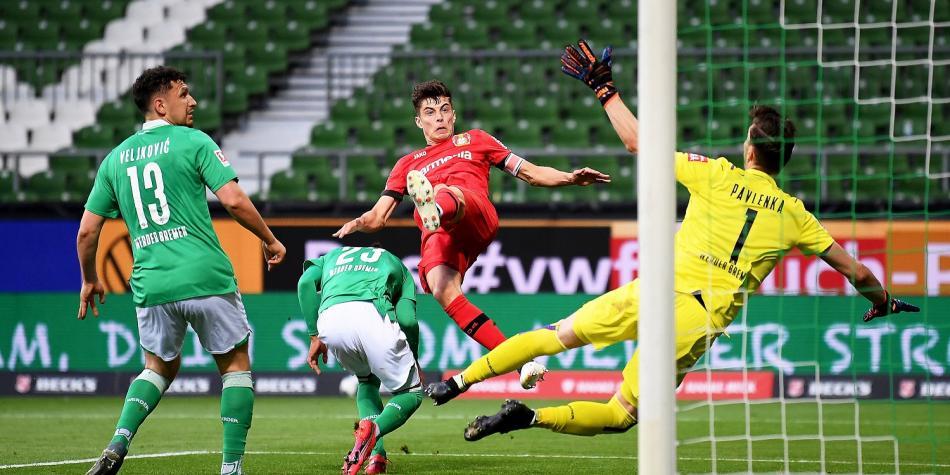 Bundesliga hoy: VIDEO de doblete en 5 minutos de Havertz en Bayer ...