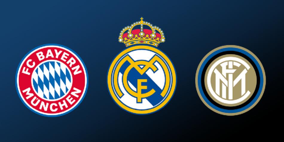 Real Madrid Bayern Inter