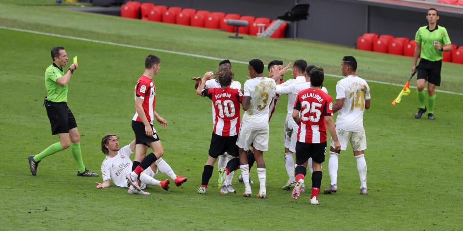 Athletic vs Real Madrid: mensajes de los futbolistas contra el VAR ...