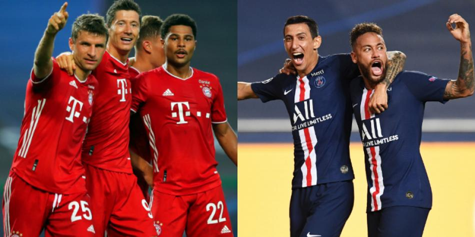 Bayern Múnich vs PSG final de Champions League: 5 duelos y ...
