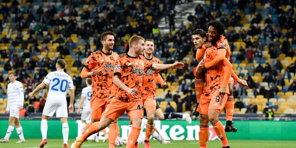 Dinamo De Kiev Vs Juventus Champions League Resultado Y Cronica Juan Guillermo Cuadrado Titular Champions League Futbolred
