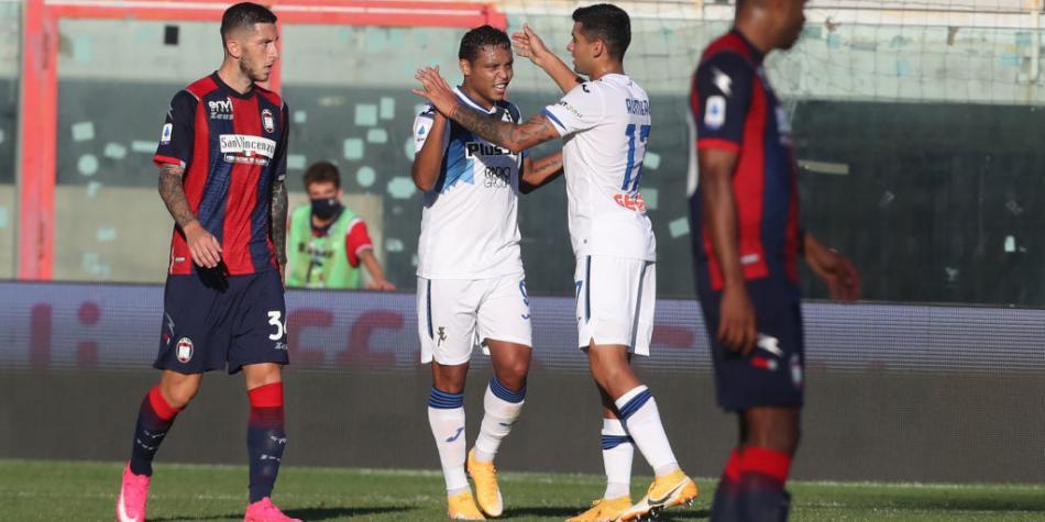 VIDEO: Muriel anota dos goles con Atalanta sobre Crotone | Vea los goles  gratis de Luis Fernando Muriel en Serie A | Serie A | Futbolred