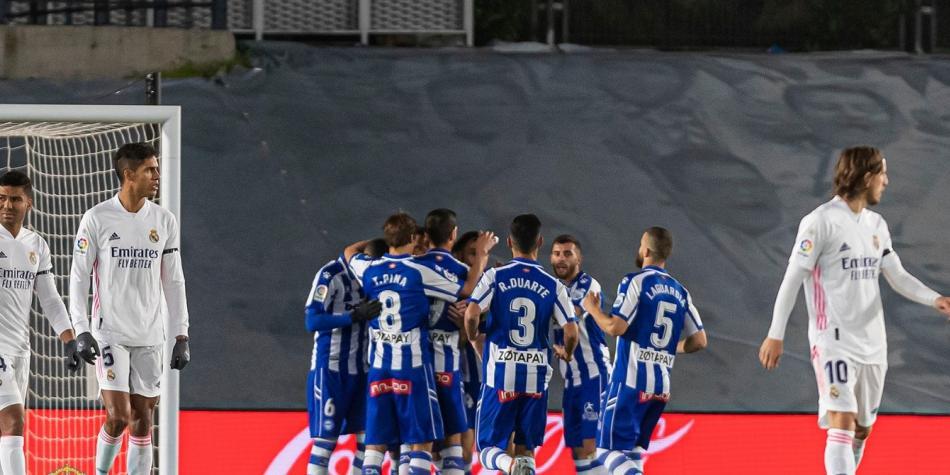 Real Madrid Perdio En Casa Con Alaves Hazard Salio Lesionado Liga De Espana Futbolred