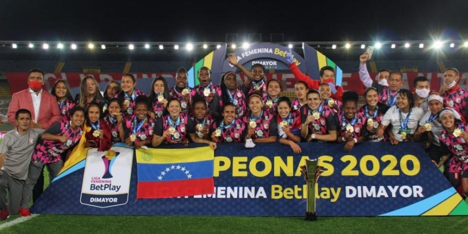 Santa Fe femenino campeón