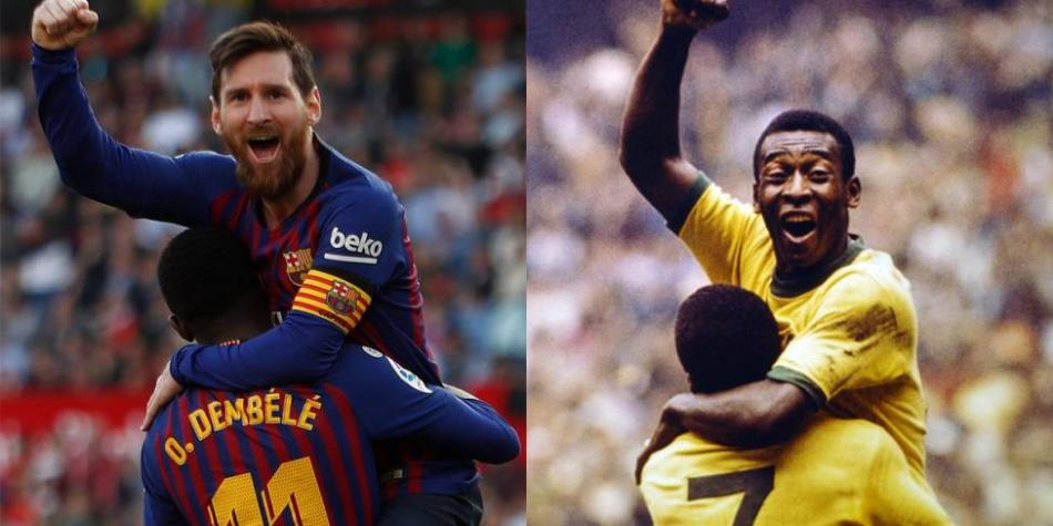 Lionel Messi iguala récord de Pelé: 643 goles con un mismo equipo | Fútbol  mundial últimas noticias hoy | Liga de España | Futbolred