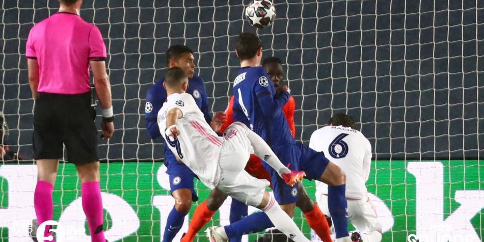 Así fue el gol de Karim Benzema en Real Madrid vs Chelsea   Ver video gratis hoy en Champions   Champions League   Futbolred