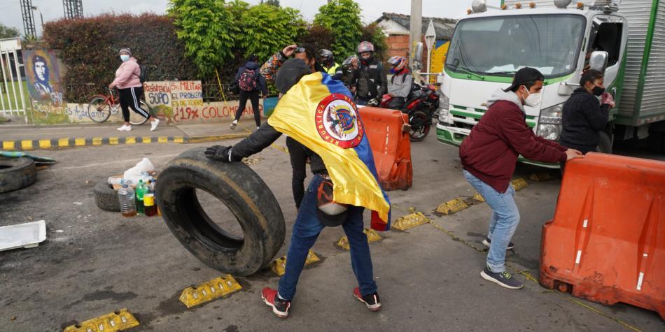 Protestas en Colombia hoy: Paro nacional 7 mayo, vias cerradas por  manifestaciones en Bogota | Fuera del Fútbol | Futbolred