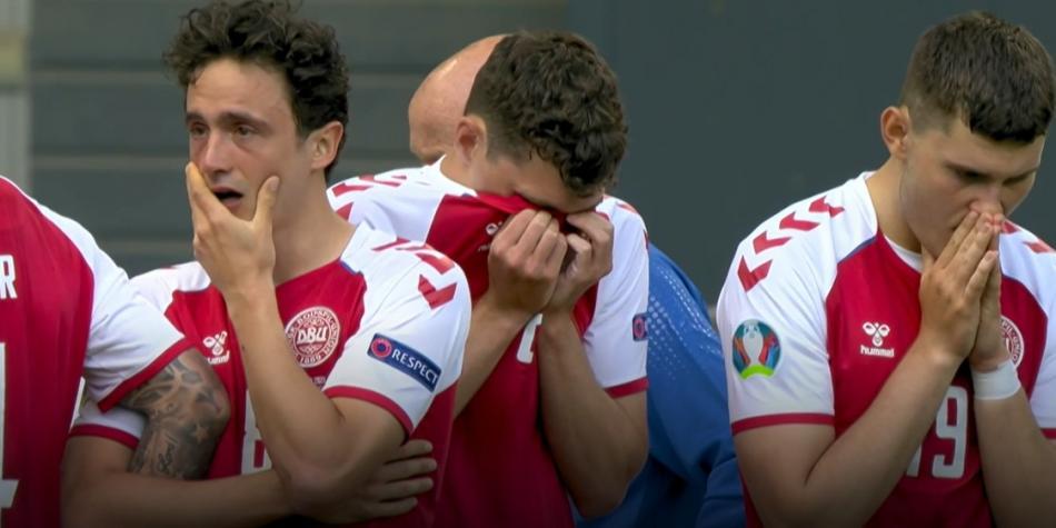 Christian Eriksen se desplomó en Euro 2021: el drama de su esposa Sabrina Kvist Jensen | EuroCopa 2021 | Futbolred