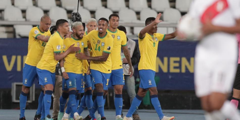 Brasil vs Perú, Copa América 2021: goles EN VIVO | Copa América 2021 |  Futbolred
