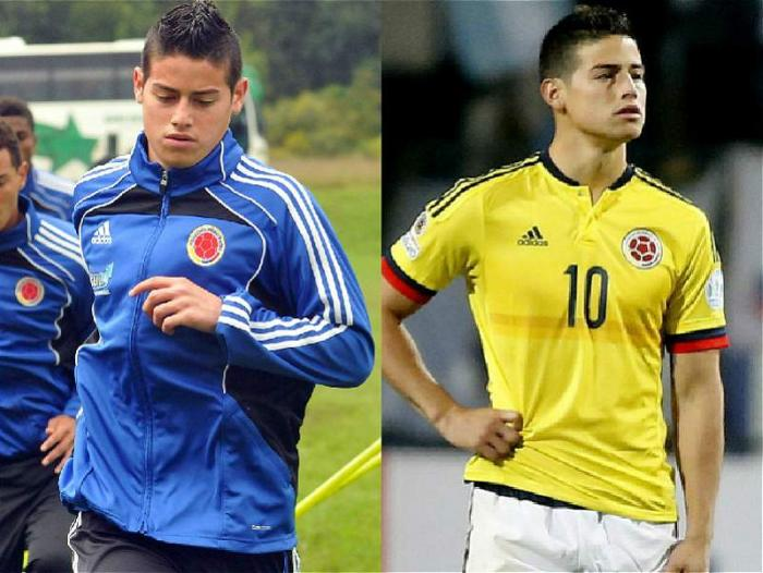 James Rodríguez, volante.