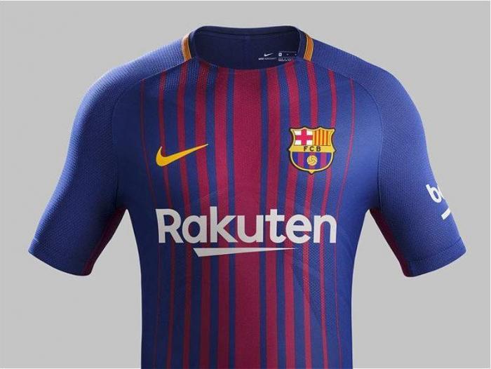 Barcelona le apostó a la sencillez en el diseño de Nike para su camiseta. fe4cb93f8d93d