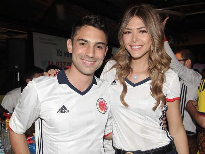 10c4f6d089 Actrices y presentadores se pusieron la camiseta de la Selección ...