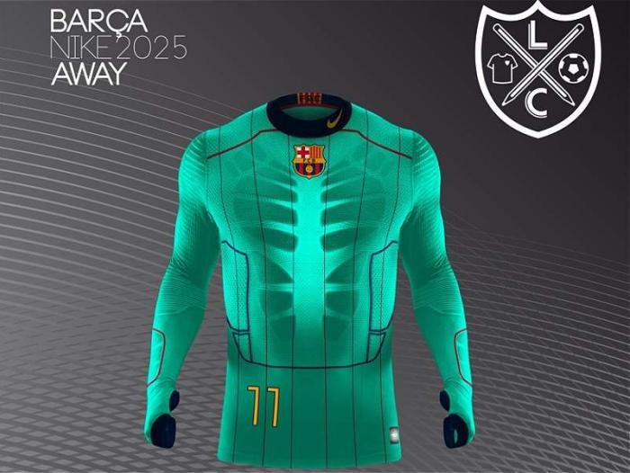 Así serían las camisetas de fútbol en el 2025  b1d9742bc7c67