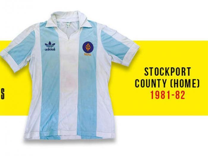 Las mejores camiseta de fútbol de la historia  67e1edf8cd470