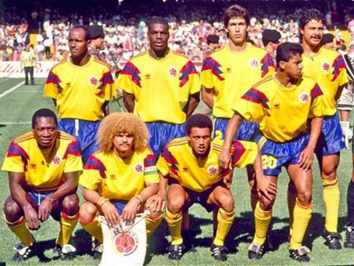 0671f107fc Camisetas de la Selección Colombia