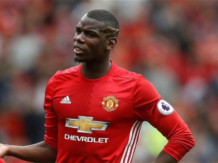 Paul Pogba no brilló para los 'red devils'.