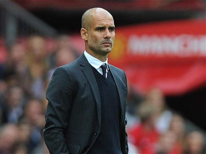 Guardiola, DT de Manchester City.