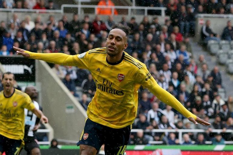 Pierre Aubameyang - Arsenal gol a Newcastle