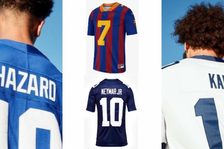 266a290b75a53 Nike presentó camisetas de Barcelona