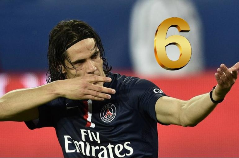 Cavani top 7 hat tricks