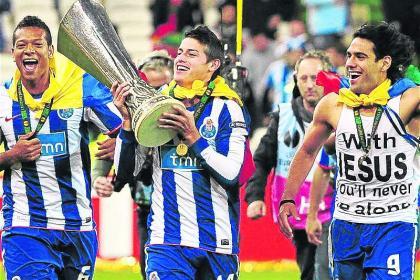Jefe del Porto de James y Falcao no dudó: 'era un equipo ...