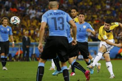 El cambio en la repetición del Colombia-Uruguay que recibió críticas
