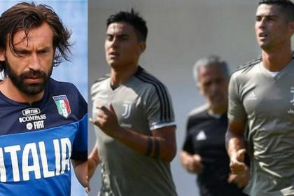 Image result for Andrea Pirlo, Dybala and Cristiano