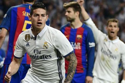Así ve James el Real-Barcelona y un 'lujito' para cerrar la entrevista