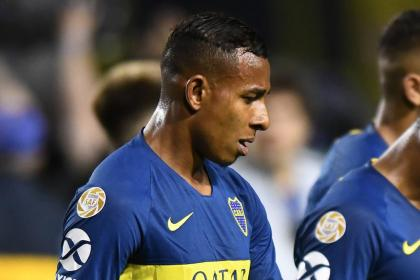 Polémica expulsión directa que sufrió Villa en empate de Boca Juniors