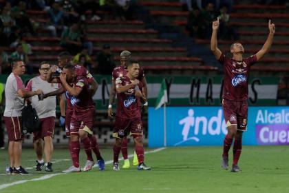 ¡Otra vez Tolima! Aquí el gol de la victoria sobre Atlético Nacional - FutbolRed