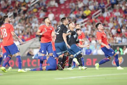 Argentina vs Chile: entre la revancha y las ausencias de cada uno