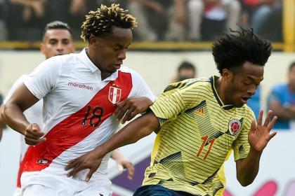 Colombia vs. Perú: prográmese y sepa hora y dónde ver el amistoso