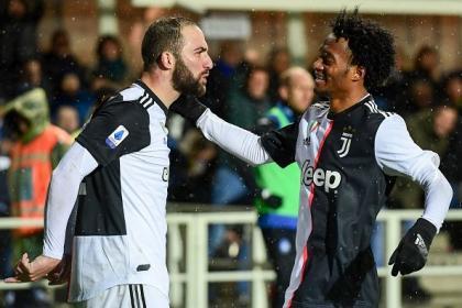 Cuadrado fue vital: Juventus remontó y ganó en su visita a Atalanta