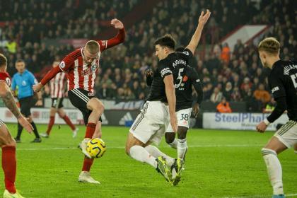 ¡Tuvo de todo! Apasionante 3-3 entre Sheffield y Manchester United