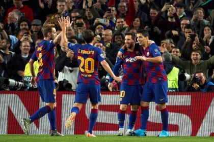 Barcelona brilló y se clasificó en Champions: 3-1 sobre Borussia