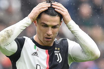 Alerta en Juventus: Cristiano Ronaldo no pudo entrenar