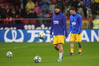 ¿Hay pelea en Barcelona? Reacción de Griezmann a Balón de Oro ...