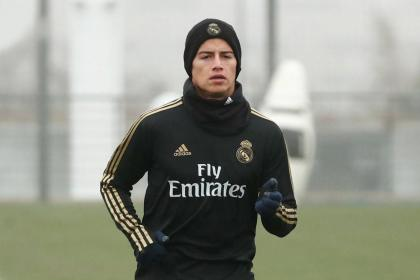 Zidane, sin tapujos: la razón por la que no convocó a James ...