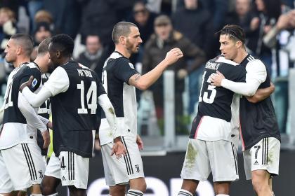 Cristiano, feliz otra vez: anotó doblete en la victoria de Juventus