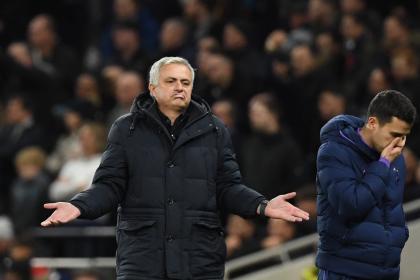 Everton desata la furia de Mourinho: acusa de perezosos a jugadores