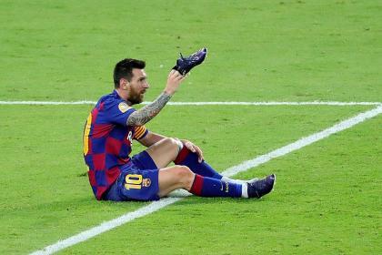 Otra decepción para Messi: lamentos luego de perder contra Atlético