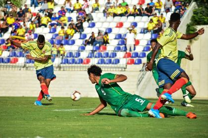 Empezó la preocupación: Colombia Sub-23 perdió por 0-1 con Bolivia