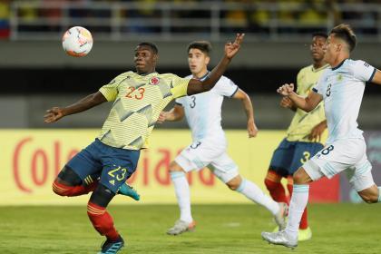 En vivo: siga aquí el juego Colombia vs. Argentina en el Preolímpico