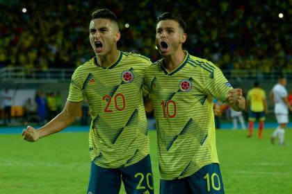 Sin centro-delantero: así jugará Colombia contra Brasil el Preolímpico