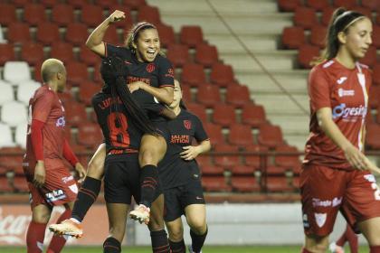 ¡Gol de Leicy en Champions! La colombiana pone en ventaja al Atleti