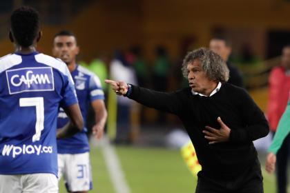 Alberto Gamero ya ganó en Millonarios, pero no todo es felicidad