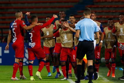 Los goles con los que Medellín goleó a Táchira en Copa Libertadores